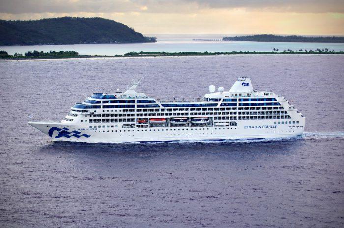 Princess cruises Tahiti
