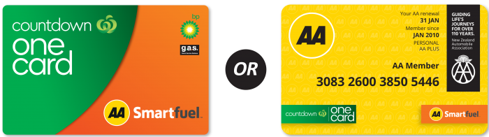 AA One Card Smartfuel