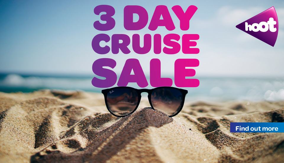 3 day Online Cruise Sale