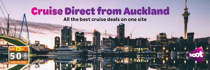 Cruise direct from Auckland