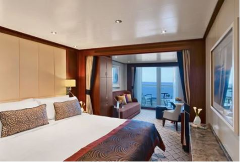 Seabourn Ovation V1 Veranda Suite