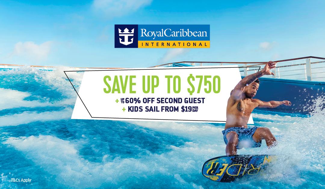 Royal Caribbean Flash Sale