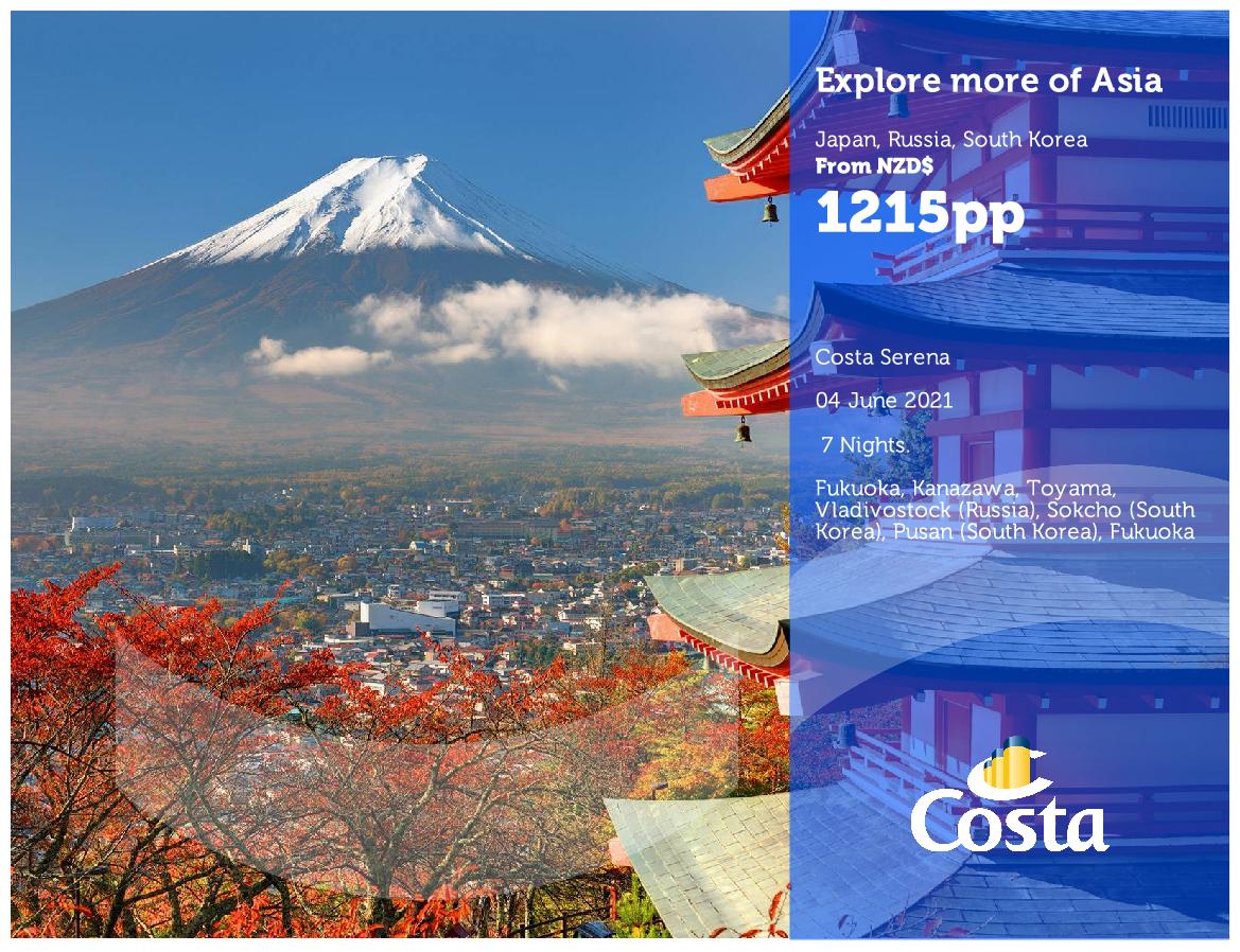 Costa Cruises Asia