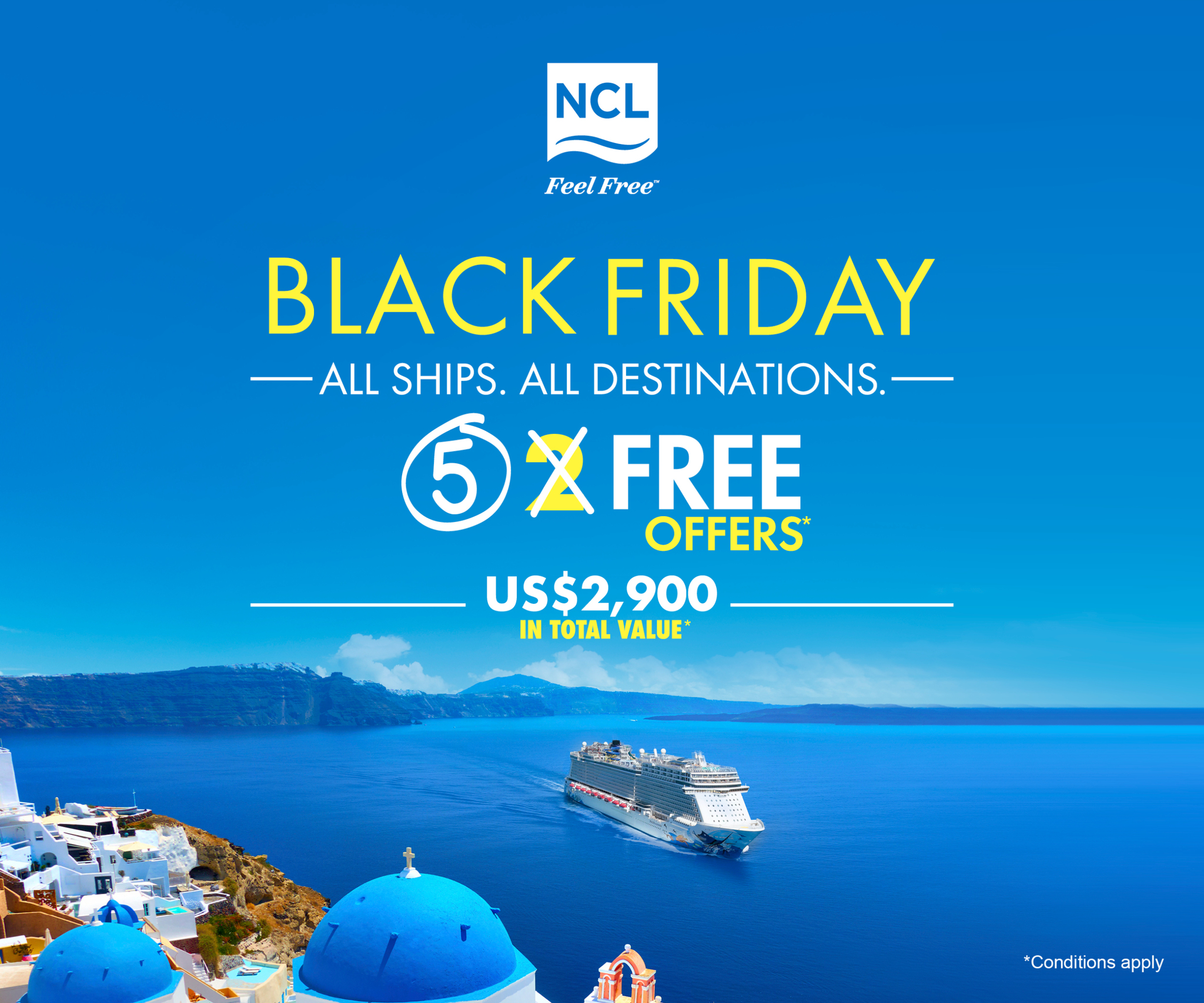 NCL Black Friday Sale
