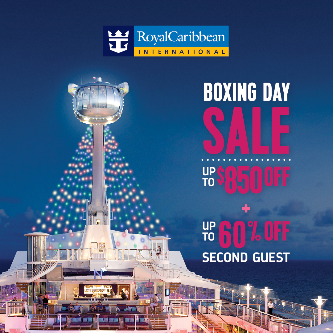 Royal Caribbean Boxing Day sale