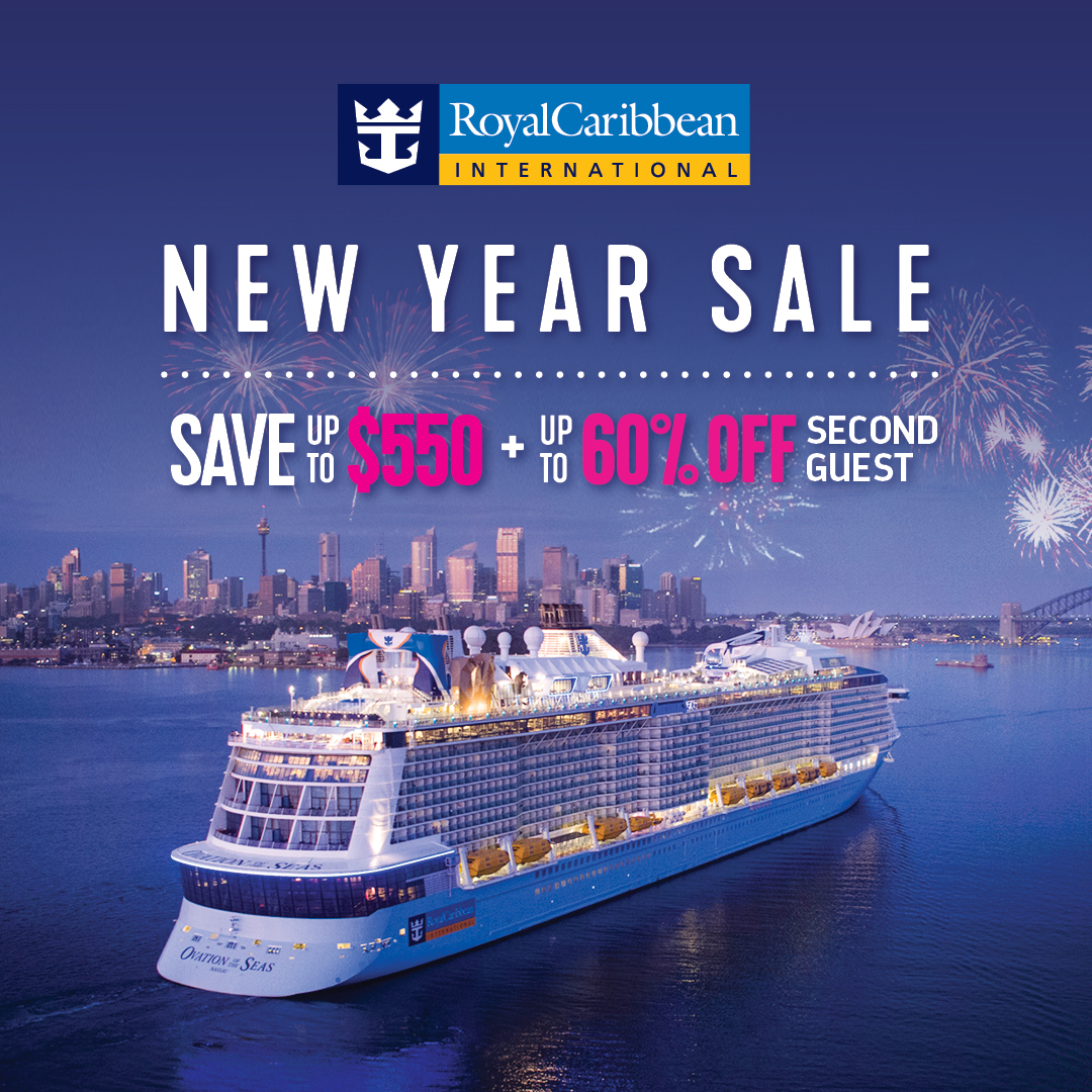 Royal Caribbean New Year Sale