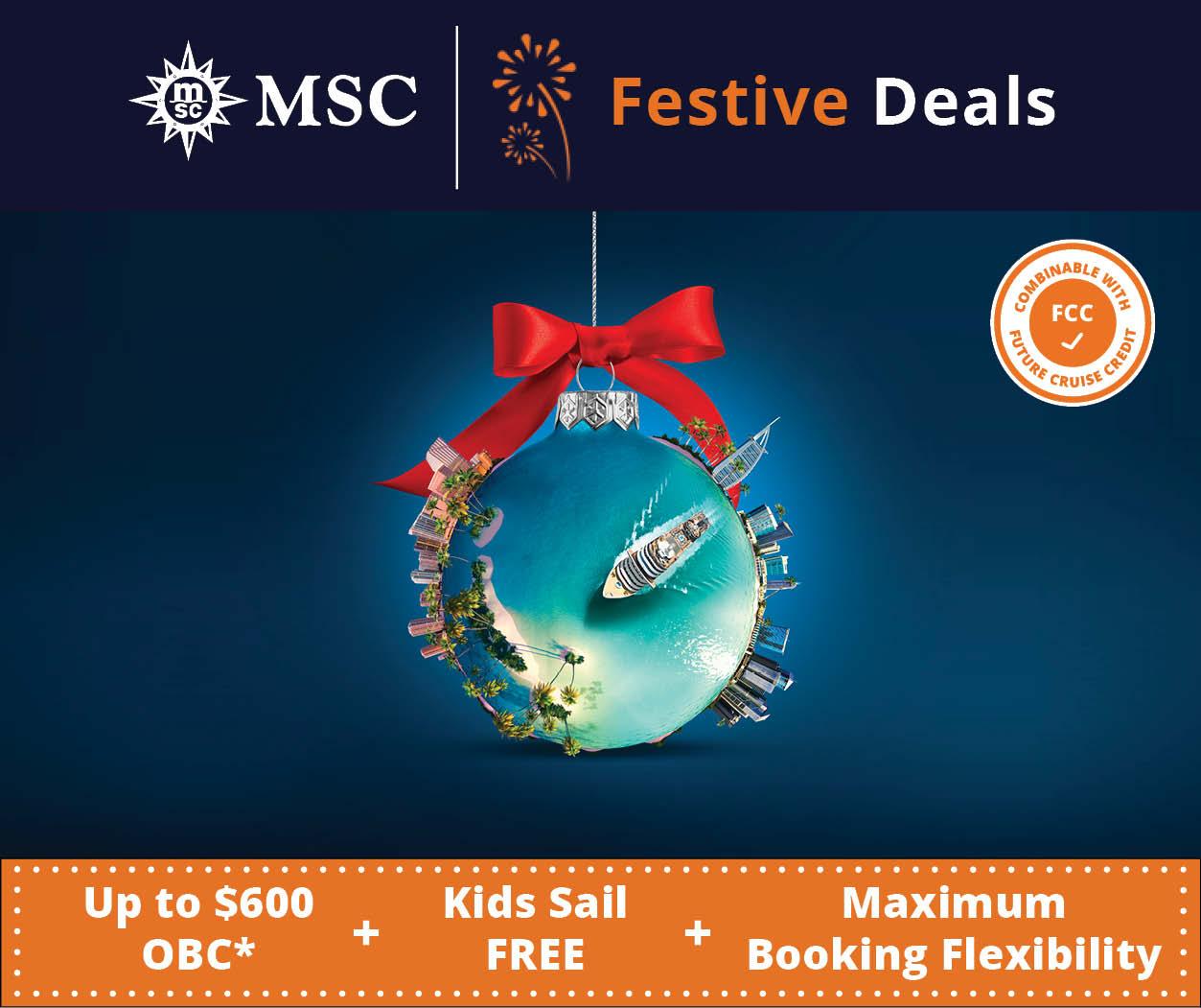 MSC Festive Deals