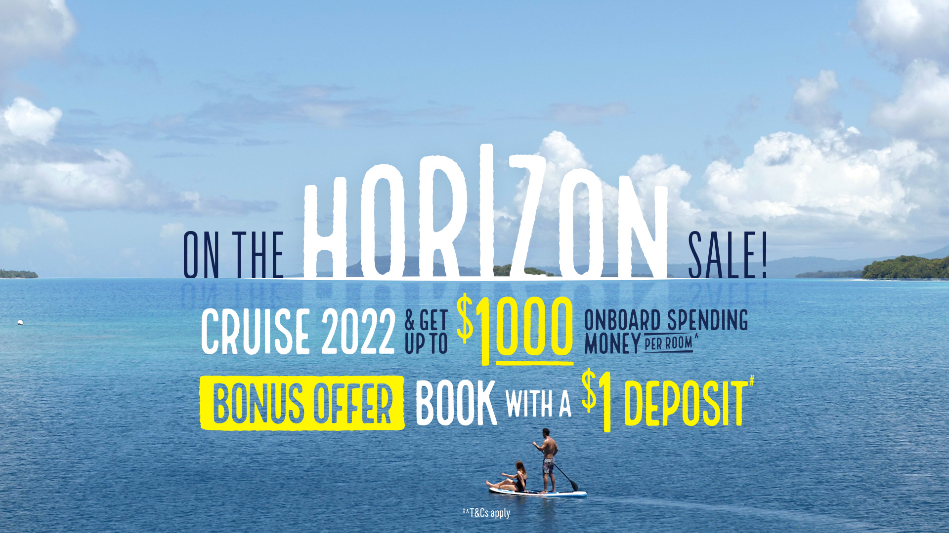 P&O Cruises On the Horizon Sale