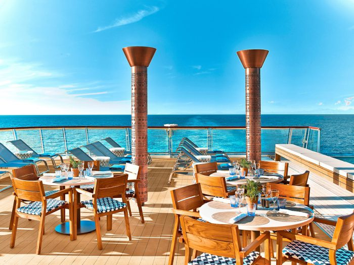 Aqavit Terrace on Viking Ocean ships
