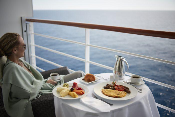 Oceania Breakfast on your veranda