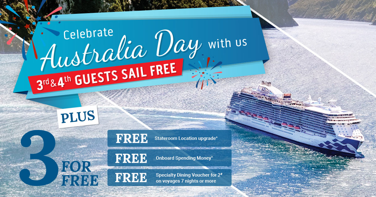 Princess Cruises Australia Day Cruise Sale