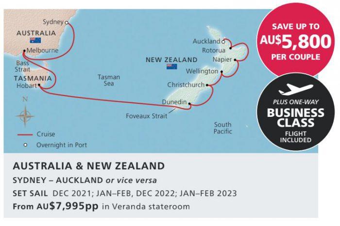 Viking Auckland to Sydney