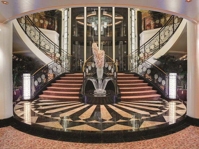 Oceania O class Grand Staircase