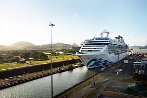 Coral Princess Panama Canal