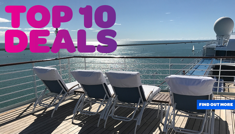 Top 10 Cruise Deals