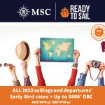 MSC Ready to Sail Cruise Sale
