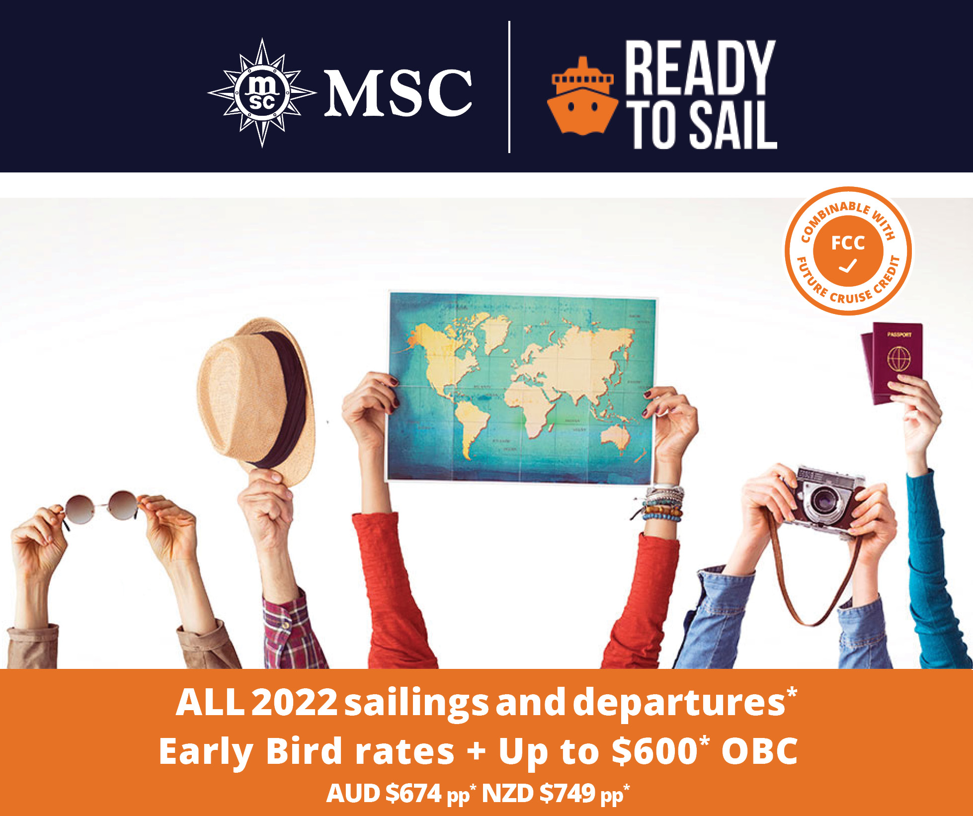 MSC Ready to Sail Cruise Sale