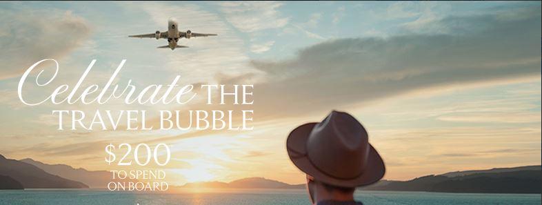 Celebrity Cruises Aussie Bubble Bonus