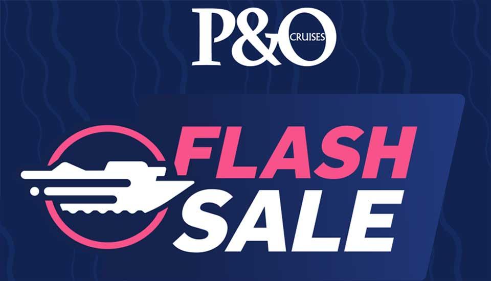 P&O Flash Cruise Sale