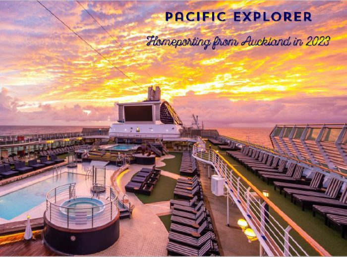 Pacific Explorer 2023 from Auckland