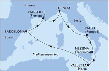 MSC World Europa Med 2023