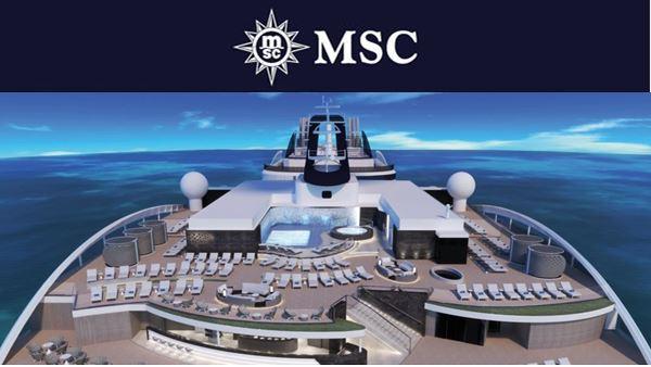 MSC World Europa Sky deck