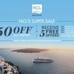NCL Super cruise Sale June 2021