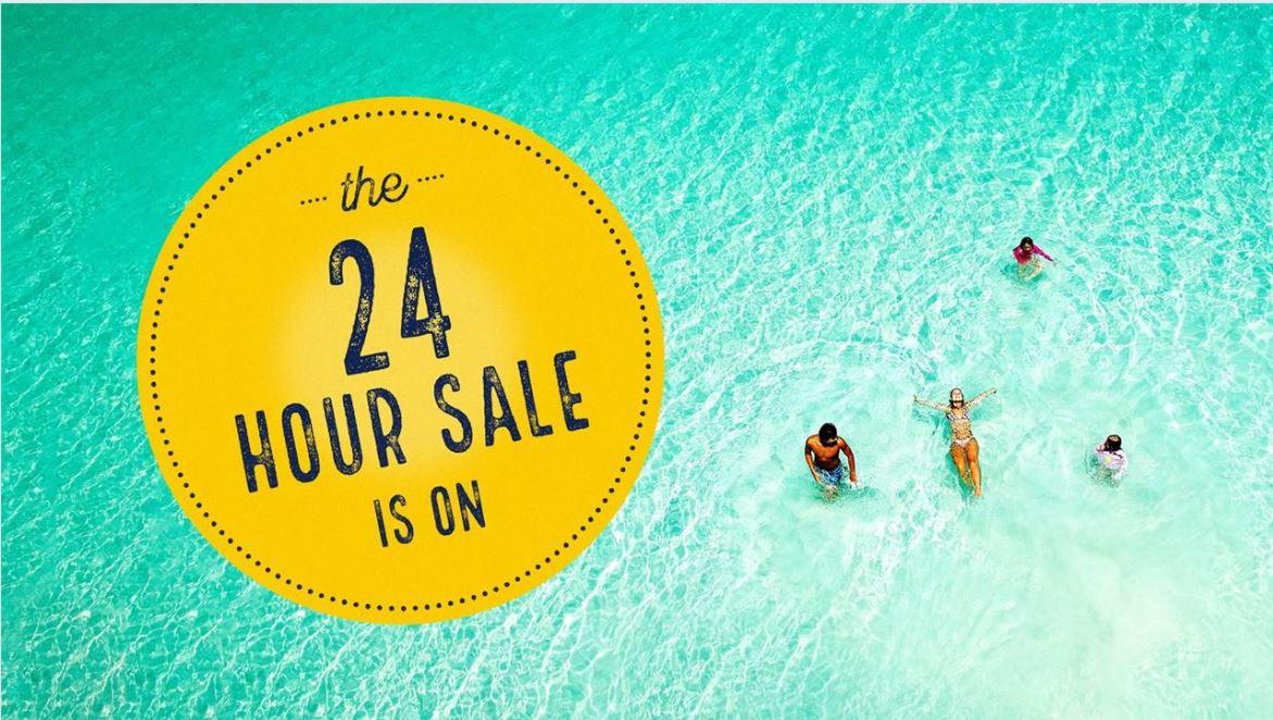 P&O Cruises 24 hour cruise sale