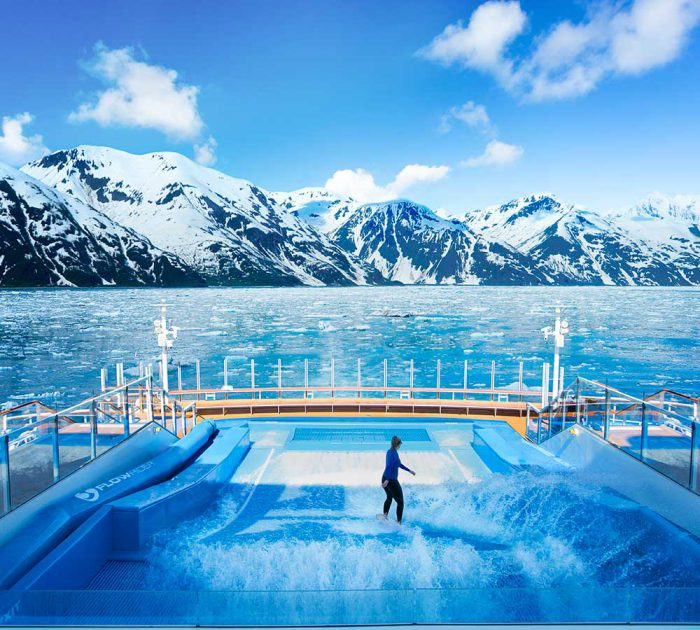 Royal Caribbean Flowrider Alaska