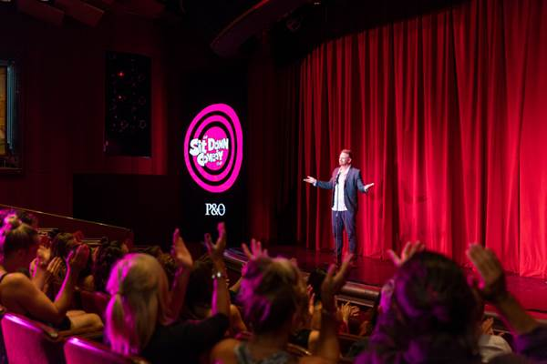 P&O Comedy Cruise