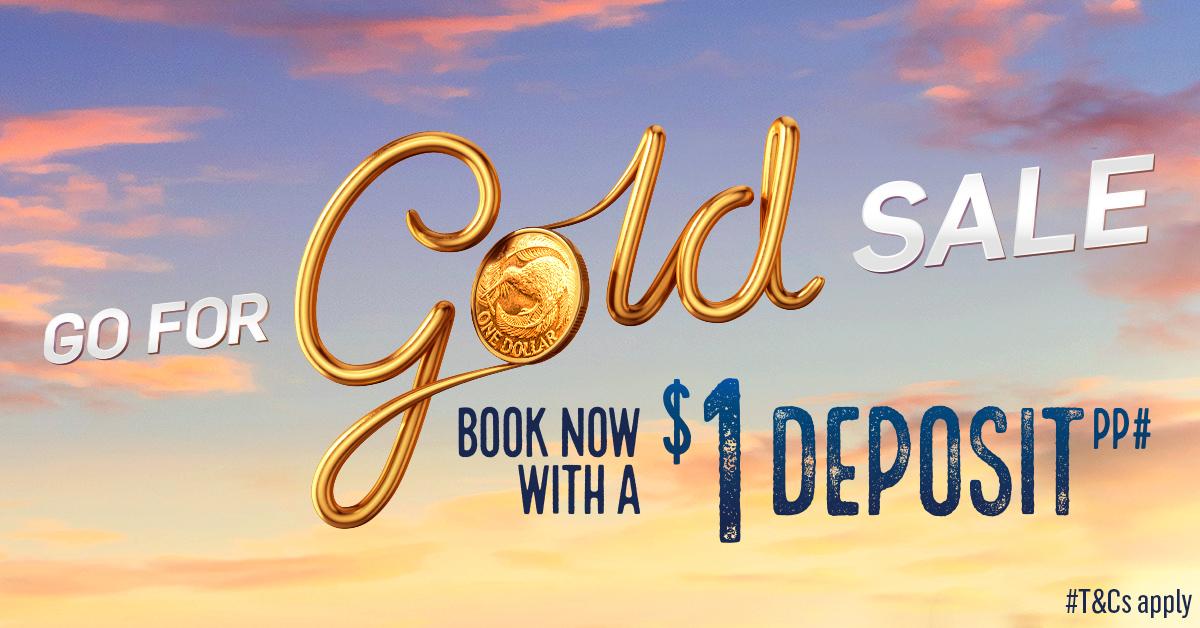 P&O Cruises Go for Gold Cruise Sale