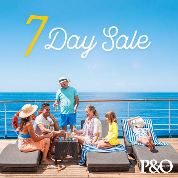 P&O Cruise Sale