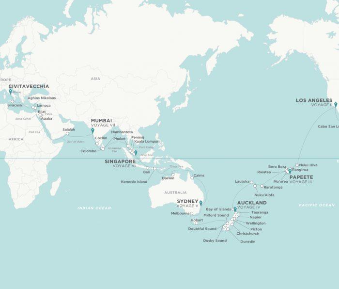 Crystal World Cruise 2024