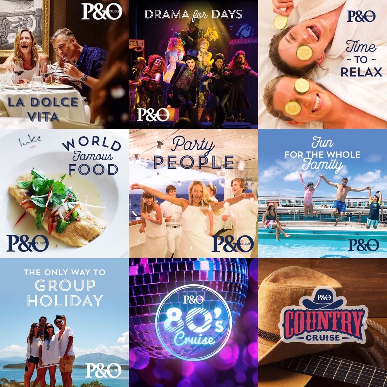 P&O Cruises Mini Breaks
