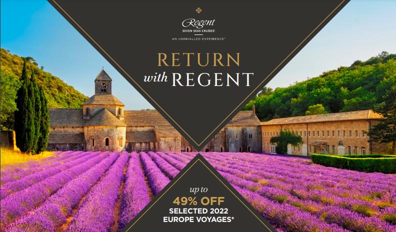 Regent Seven Seas Cruises Sale