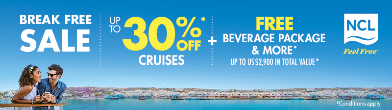 NCL BreakFree Cruise Sale